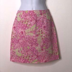 Lilly Pulitzer Women's pink sunbathing pool skirt